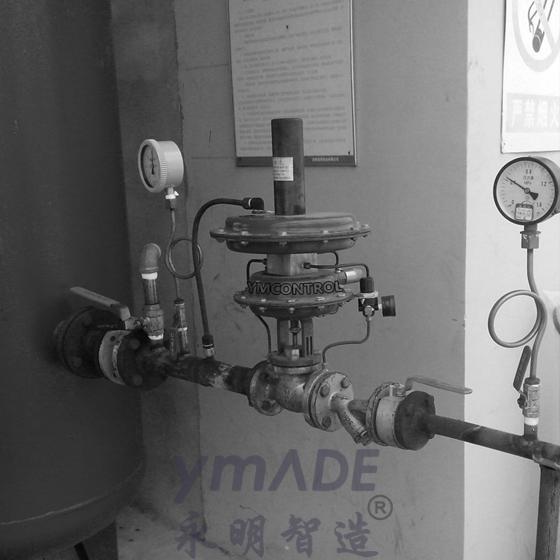 储罐氮封自力式供氮阀使用现场